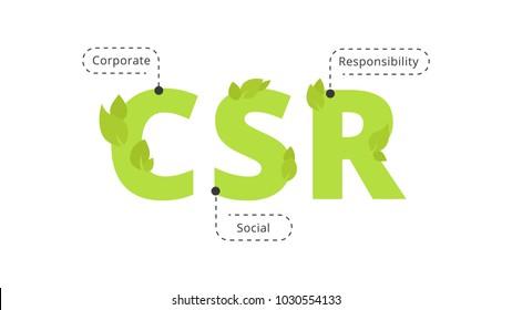 CSR - Corporate Social Responsibility  symbol