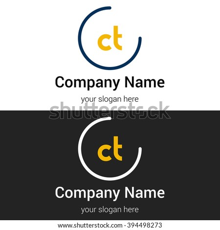 Ct business logo icon design template stock vector royalty free ct business logo icon design template elements vector color sign wajeb Gallery