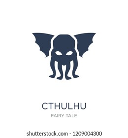 Cthulhu icon. Trendy flat vector Cthulhu icon on white background from Fairy Tale collection, vector illustration can be use for web and mobile, eps10