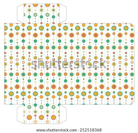 cube box template stock vector royalty free 252518368 shutterstock