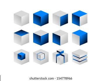 Cube design element part1 eps8