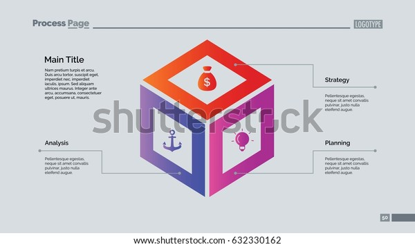 Cube Diagram Slide Template
