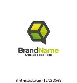 Cube logo design