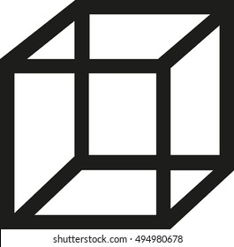 Cube outline