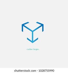 cube simple logo