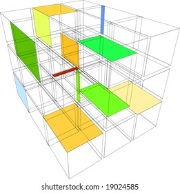 cube wireframe