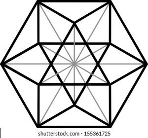 Cuboctahedron, vector equilibrium, Archimedean solid