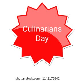 Culinarians Day Label, July 25