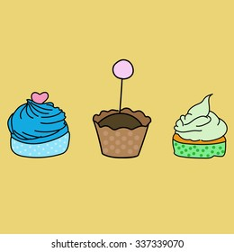 Cup Cake .