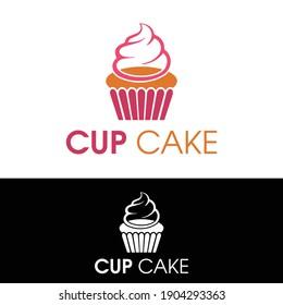 Cup Cake Logo Idea   Modern Logo Idea