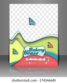 Cup Cake Shop Flyer Template