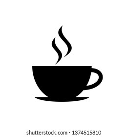 Cup of coffee. Coffee cup icon. Coffee vector icon