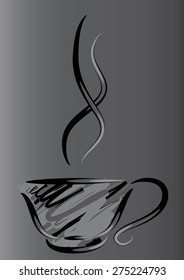 a cup of coffee or tea