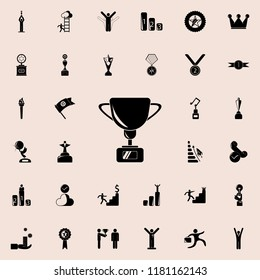 cup icon. Sucsess and awards icons universal set for web and mobile
