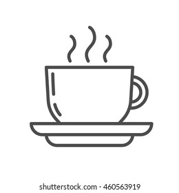 cup linear icon. . Thin line design