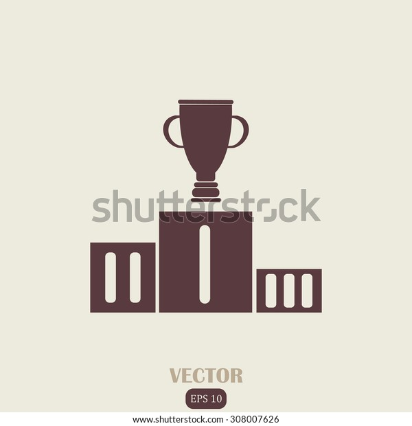 Cup and a pedestal