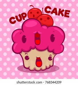 cupcake  cartoon  cute