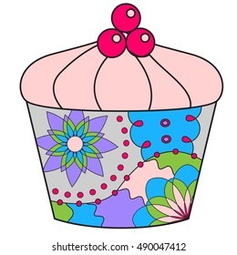 Cupcake colorful
