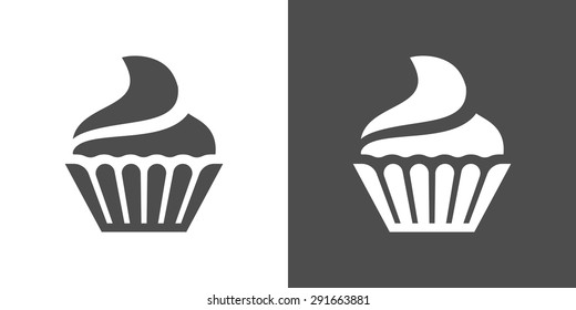 Cupcake Icon Images, Stock Photos & Vectors