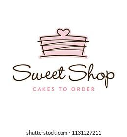 Cupcakes Bakery Logo Template