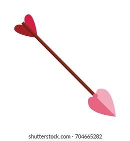 Cupid arrow symbol