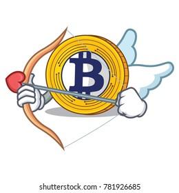 Cupid Bitcoin Gold character cartoon