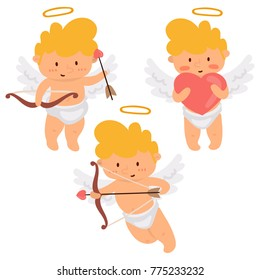 Cupid in different pose