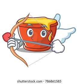 Cupid honey character cartoon style