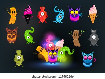 Curious Monster Collection - Strange and beautiful!