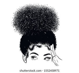 Curly Hair Beach Images Stock Photos Vectors Shutterstock
