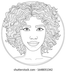 African Women Coloring Pages Hd Stock Images Shutterstock