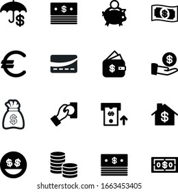 currency vector icon set such as: safe, hold, pound, machine, pig, emoji, cafe, old, line, work, lucky, frame, gold, yellow, smile, character, paying, give, pounds, sack, purchase, image, large