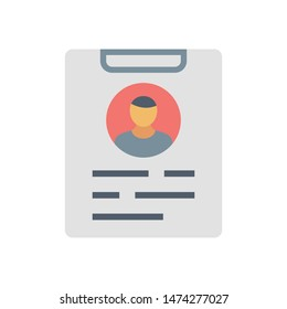 curriculum vitae icon. Logo element illustration. curriculum vitae sign symbol design. colored collection. curriculum vitae concept. Can be used in web and mobile