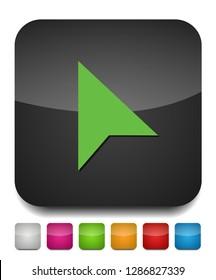 cursor arrow, computer cursor - symbol