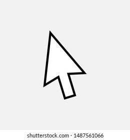 Cursor Icon. Pointer Illustrations - Vector, Sign and Symbol for Design, Presentation, Website or Apps Elements.