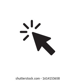 cursor icon vector illustration isolated