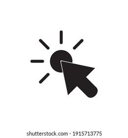 Cursor and mouse icon symbol vector