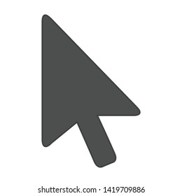 cursors icon. flat illustration of cursors vector icon for web
