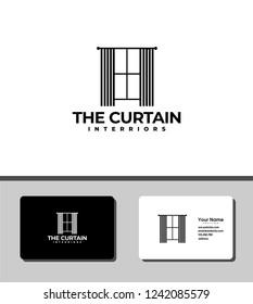 the curtain logo