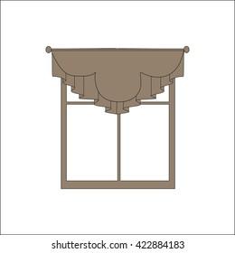 curtains. interior textiles. window decoration.
