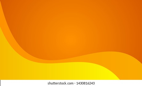 Curve orange gradient background, abstract texture background for your design. Design by Inkscape.