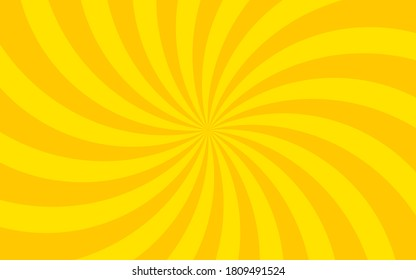 Curved concentrated line background material