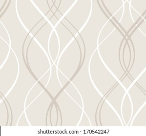 Curved stripes forming a decorative abstract background pattern that will tile seamlessly.
