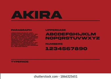 Custom Font Bundle Bold Sans Serif - Shutterstock ID 1866325651