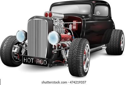 custom hot rod fully editable