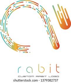 custom rabit logo