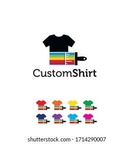 Custom Shirt with Canvas Logo Design