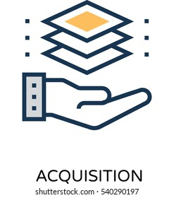 Customer Acquisition Vector Icon