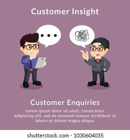 Customer insight customer enquiries description