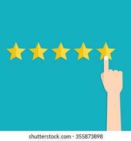 Customer review concept. Usability Evaluation